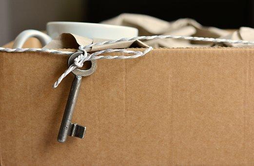 cardboard-and-key