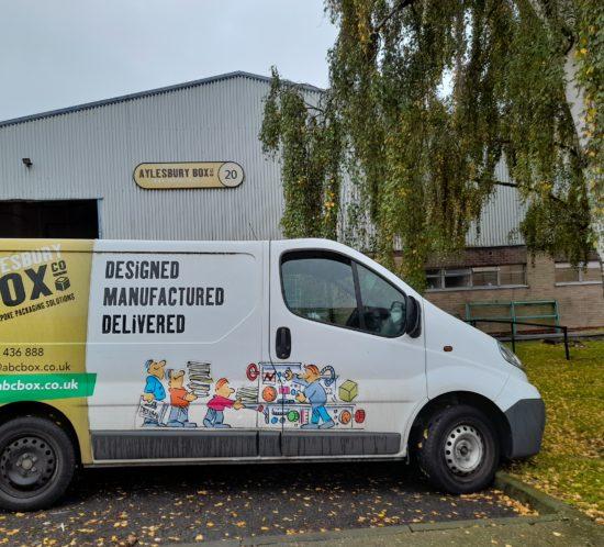 cardboard-box-company-van